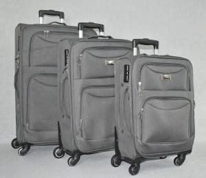 Куфар платнен сив комплект