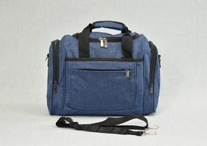 Сак пътна чанта за ръчен багаж син