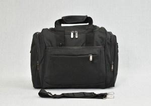 Сак пътна чанта за ръчен багаж светло черен