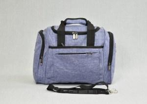 Сак пътна чанта за ръчен багаж светло син