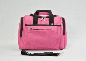 Сак пътна чанта за ръчен багаж розов
