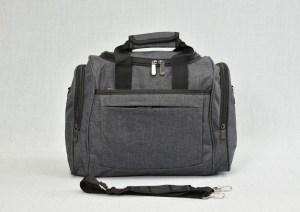 Сак пътна чанта за ръчен багаж сив