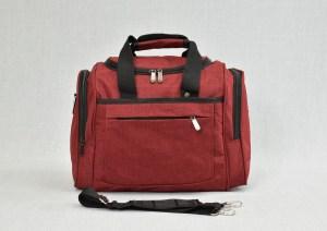 Сак пътна чанта за ръчен багаж червен