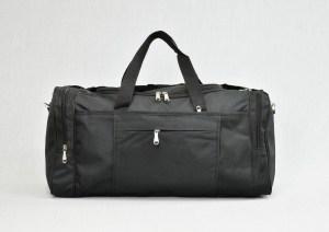 Сак пътна чанта стилна с джоб черен