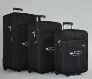 Куфар платнен с разширител комплект