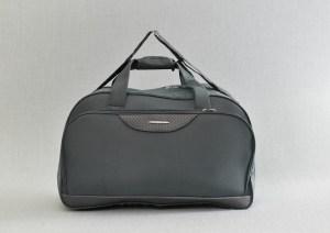 Сак пътна чанта стилна сива