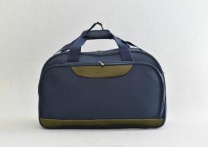 Сак пътна чанта стилна синя