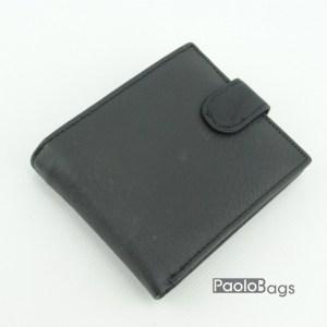 Мъжки портфейл от естествена кожа луксозен 18087