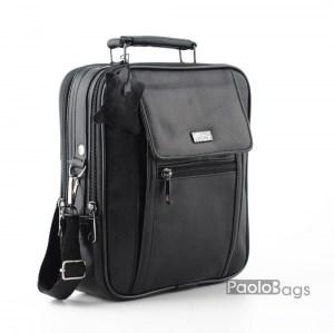 Мъжка чанта от естествена кожа стандартен размер