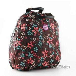 Дамска раница от плат голяма с пастелни цветове 27323