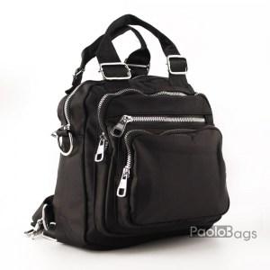 Евтина дамска раница от плат и ръчна чанта 27667