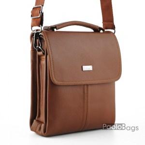Луксозна мъжка чанта спортно елегантна 27683