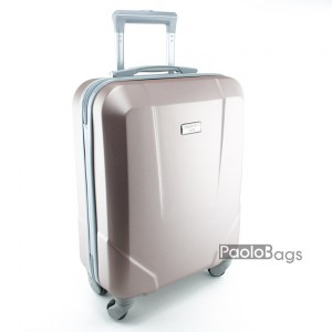 Куфар на колелца за ръчен багаж розов 18283-2