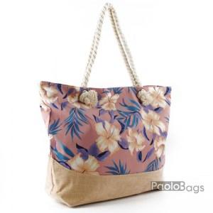 Плажна чанта с цвета 27690