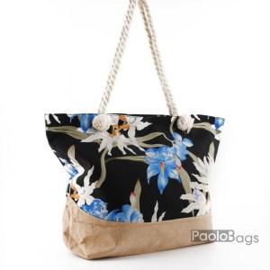 Плажна чанта с цвета 27691