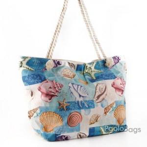 Плажна чанта с морска картинка 27699