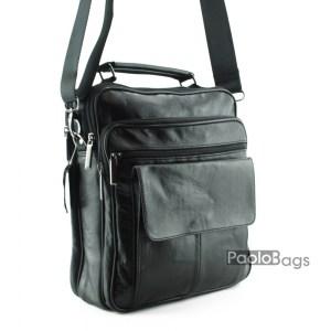 Евтина мъжка чанта кожена 17544