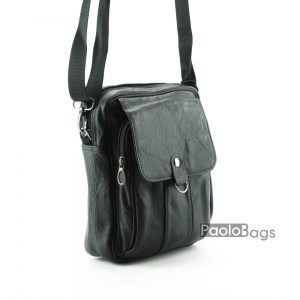 Мъжка чанта от естествена кожа 17555