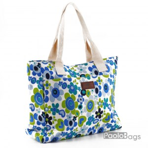 Плажна чанта елегантна на цветя 27906