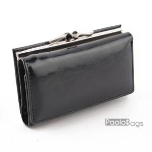 Черно малко дамско портмоне 27231