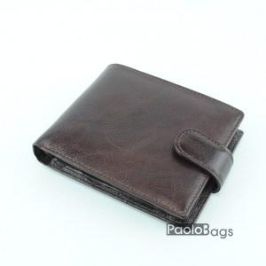 Луксозен мъжки портфейл от естествена кожа 18051