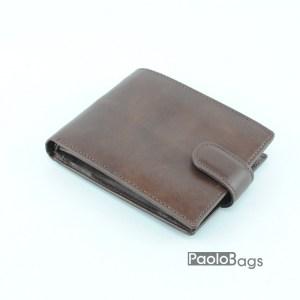Луксозен мъжки портфейл от естествена кожа 18054