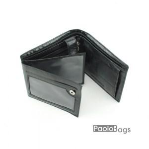 Луксозен мъжки портфейл от естествена кожа 18053