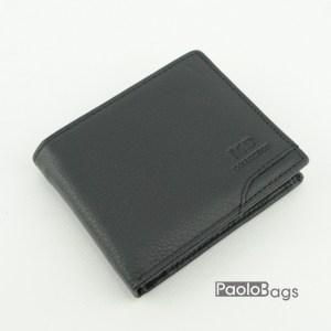 Мъжки портфейл от естествена кожа луксозен 18090