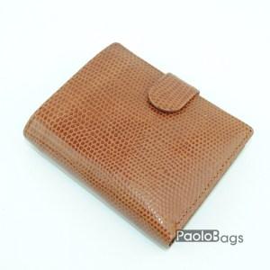 Мъжки портфейл от естествена кожа кафяв 18204