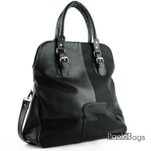 Дамска чанта тип торба с дръжка за рамо 21056