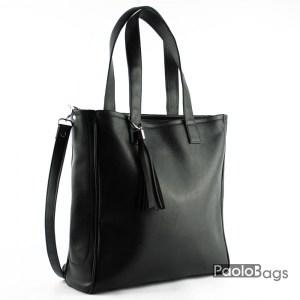 Дамска чанта тип торба с дръжка за рамо 21057