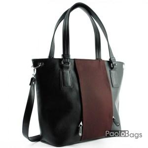 Дамска чанта тип торба с дръжка за рамо 21058