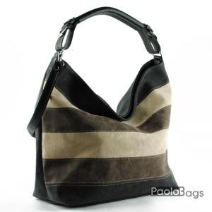 Дамска чанта тип торба с дръжка за рамо 21059