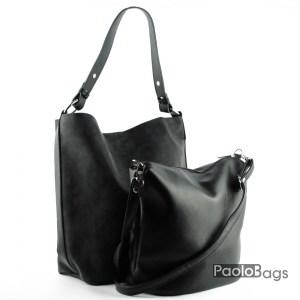 Дамска чанта тип торба с дръжка за рамо 21060