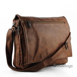 Мъжка бизнес чанта с разширителен цип
