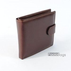 Луксозен мъжки портфейл от естествена кожа 20404