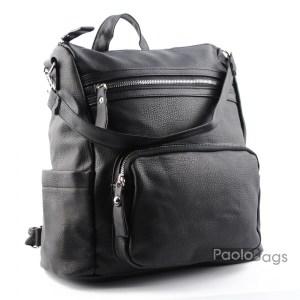 Черна дамска раница и чанта 20479