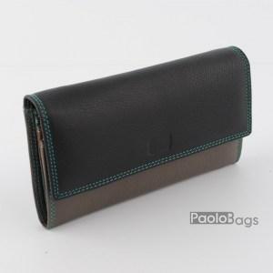 Дамско портмоне шарено с пастелни цветове 21620
