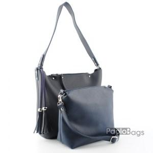Дамска чанта 2в1 с органайзер 21652