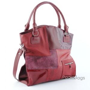 Дамска чанта с три отделения 21655