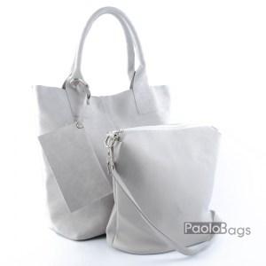 Дамска чанта 2в1 всекидневна практична 21666