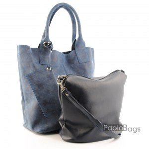 Дамска чанта 2в1 всекидневна практична 21668