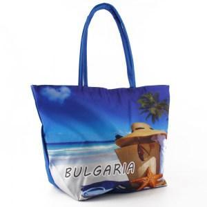 Плажна чанта евтина с картинка 23043