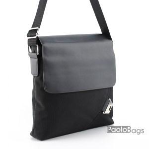 Мъжка чанта от плат за през рамо 23511