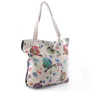 Плажна чанта евтина със затваряне с цип 26069