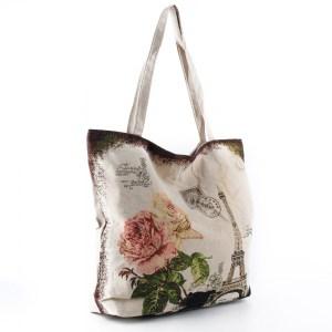Плажна чанта евтина със затваряне с цип 26070