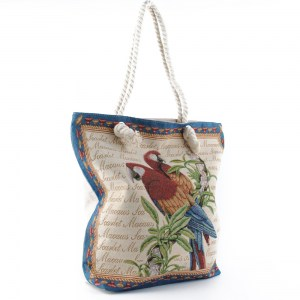 Плажна чанта евтина със затваряне с цип 26072