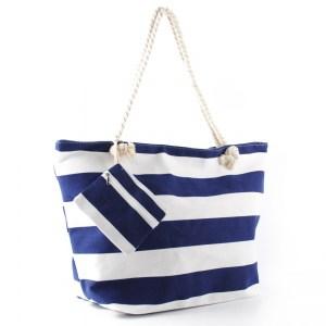 Плажна чанта евтина със затваряне с цип 26074
