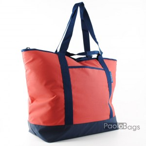 Плажна чанта размер гигант терно чанта с удобни дръжки за носенен на рамо под мишница с приятни цветове