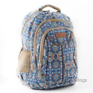 Ученическа раница евтина пастелно синя 26500